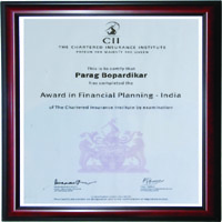 CII INSTITUTE ( FINANCIAL PLANNING)